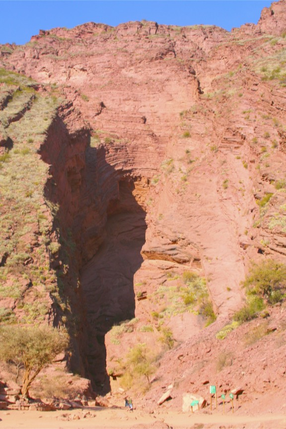 El Garganta del Diabalo (the Devil's Throat), Quebrada de Cafayate, Argentina