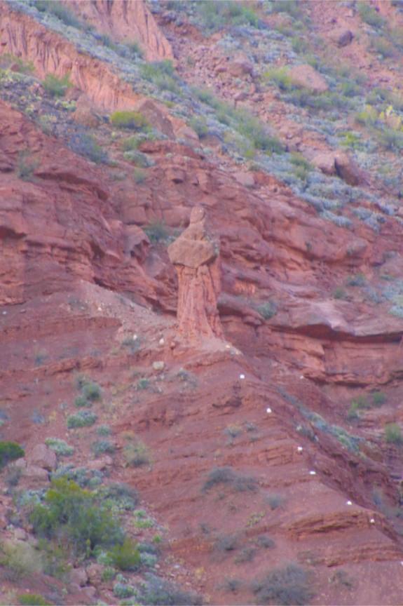 El Fraile (the Friar), Quebrada de Cafayate, Argentina