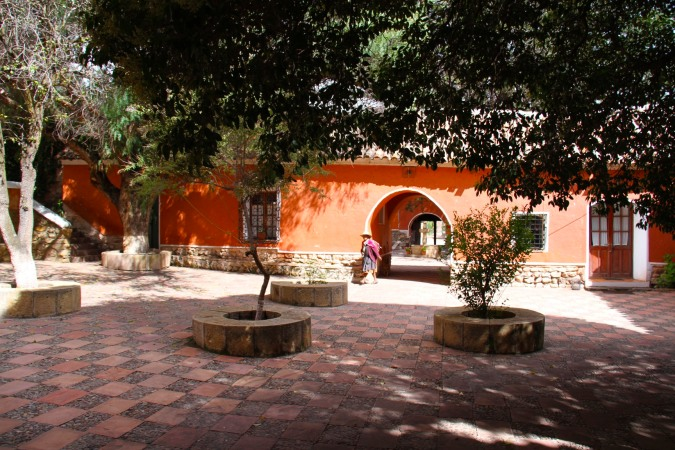 Patio, Hacienda Cayara, Potosi, Bolivia