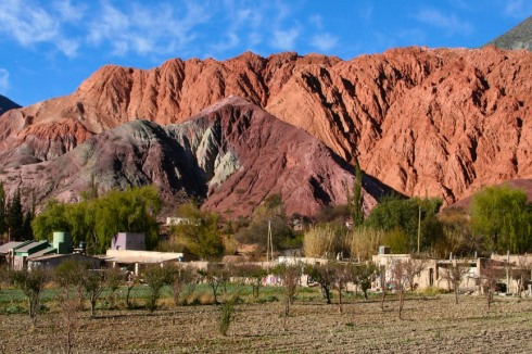 The village of Purmamarca, Argentina