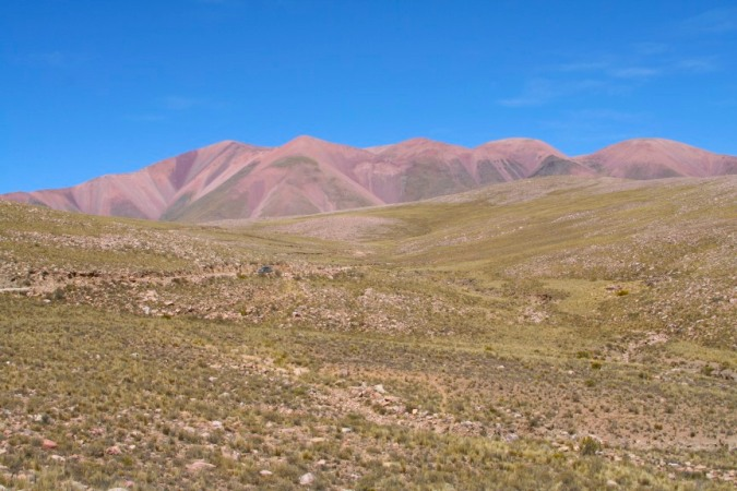 En route to Iruya, Argentina