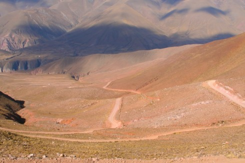 Scenery on the journey to Iruya, Argentina