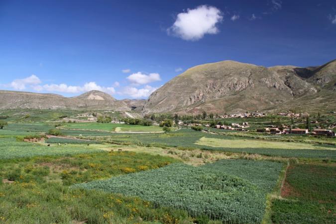 Cayara valley, Potosi, Bolivia