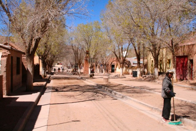 Downtown Susques, Argentina