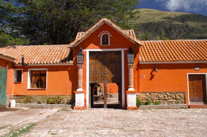 Entrance, Hacienda Cayara, Potosi, Bolivia