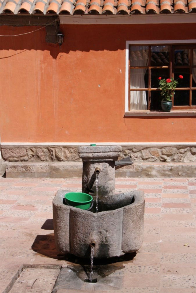 200 year old fresh water supply, Hacienda Cayara, Potosi, Bolivia