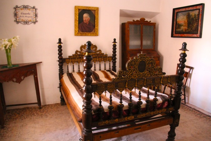 Bedroom, Hacienda Cayara, Potosi, Bolivia
