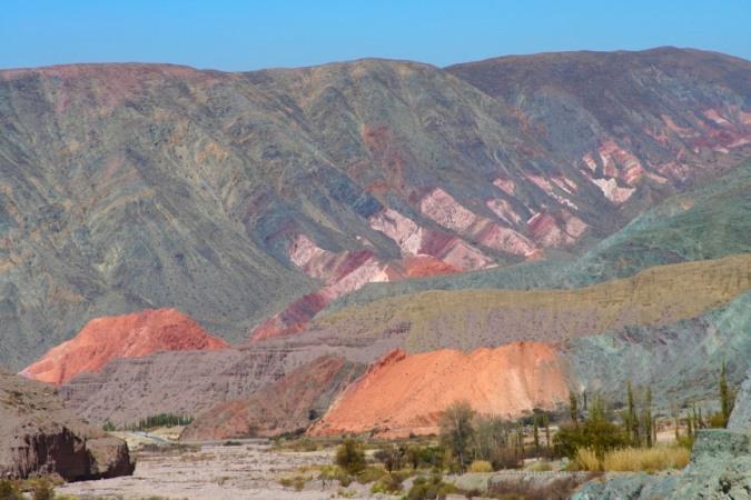 Quebrada de Humahuaca en route to Iruya, Argentina