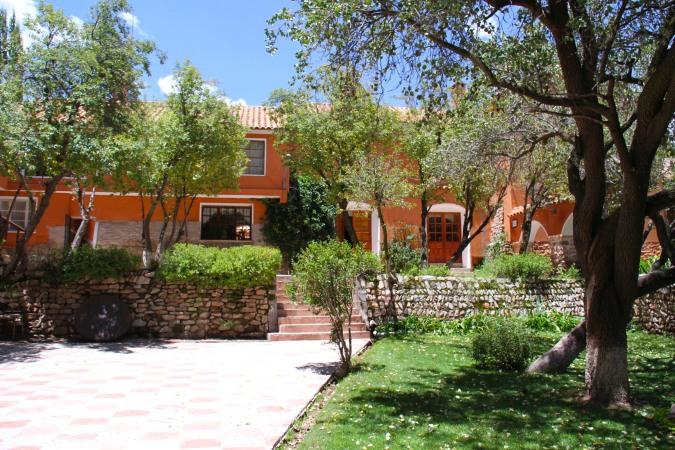 Gardens, Hacienda Cayara, Potosi, Bolivia