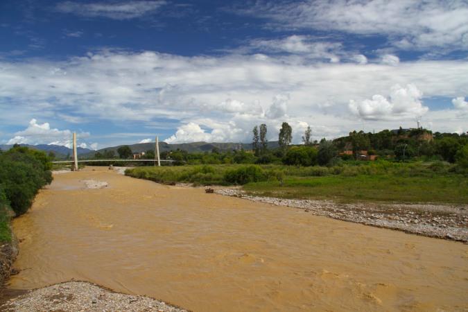 Tarija's Guadalquivir River, Bolivia