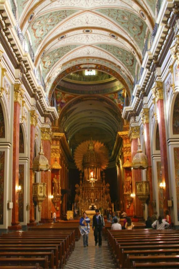 Interior, Iglesia San Francisco, Salta, Argentina
