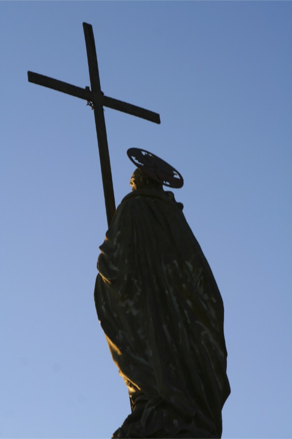 Statue on Cerro San Bernardo, Salta, Argentina