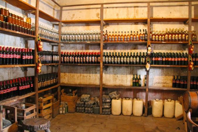 Artisanal wines, Tarija, Bolivia