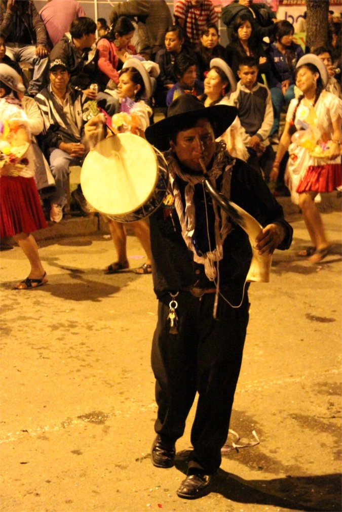 Musician, Comadres, Tarija, Bolivia