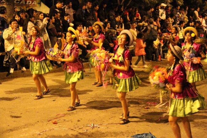 Dancers, Comadres, Tarija, Bolivia