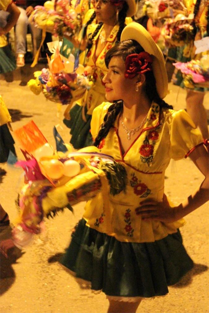 Dancer, Comadres, Tarija, Bolivia