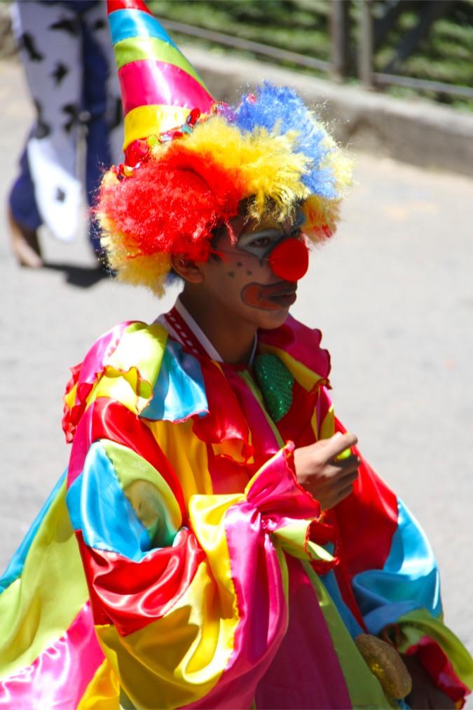 Clown, Carneval, Tarija, Bolivia