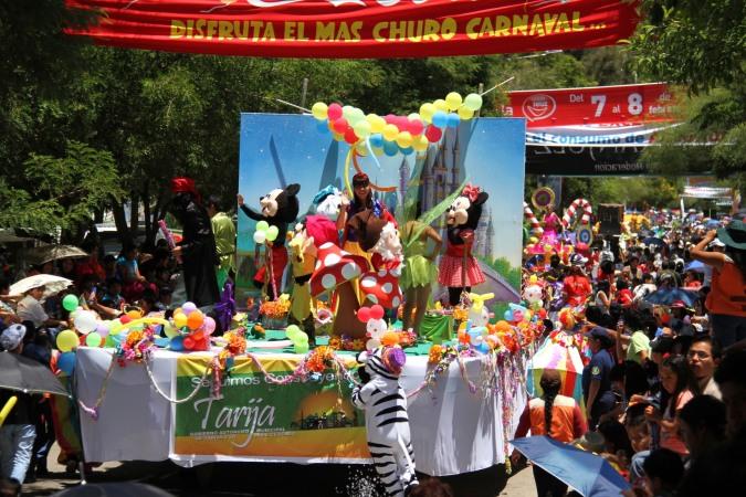 Disney does Tarija, Carneval, Tarija, Bolivia