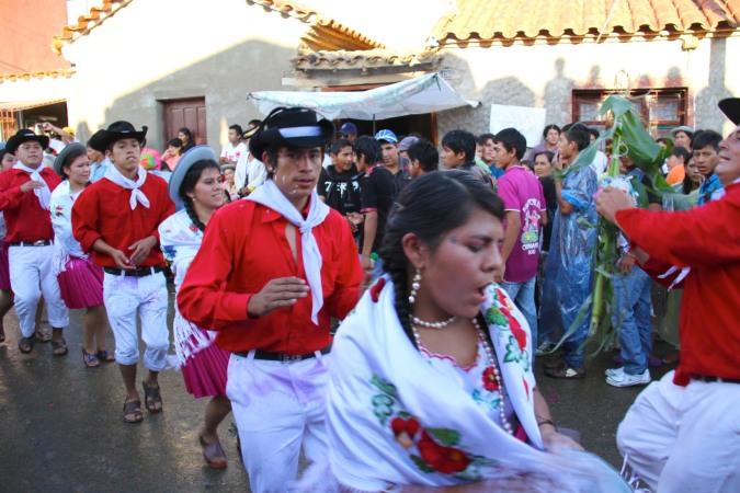 Carneval in San Lorenzo, Tarija, Bolivia