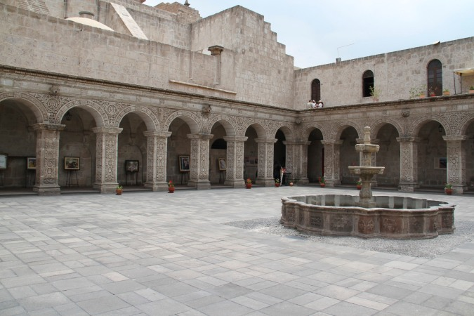 Colonial-era quadrangle, Arequipa, Peru