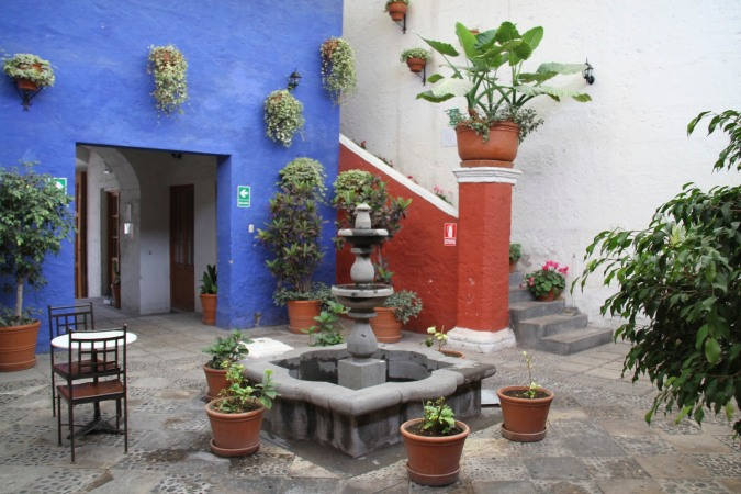 Courtyard, Arequipa, Peru