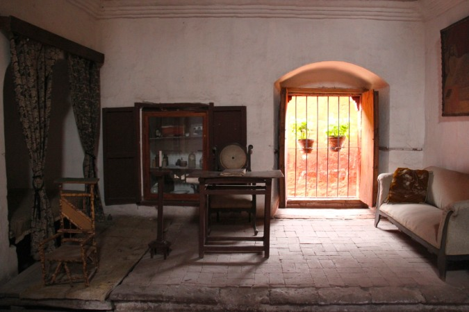A wealthy nun's room, Monestario de Santa Catalina, Arequpia, Peru
