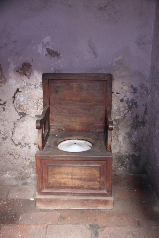 Toilet. Monestario de Santa Catalina, Arequpia, Peru