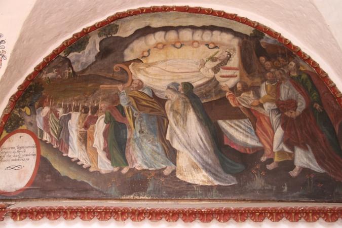 Painting, Monestario de Santa Catalina, Arequpia, Peru