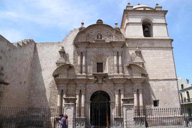 Iglesia de La Compania, Arequipa, Peru
