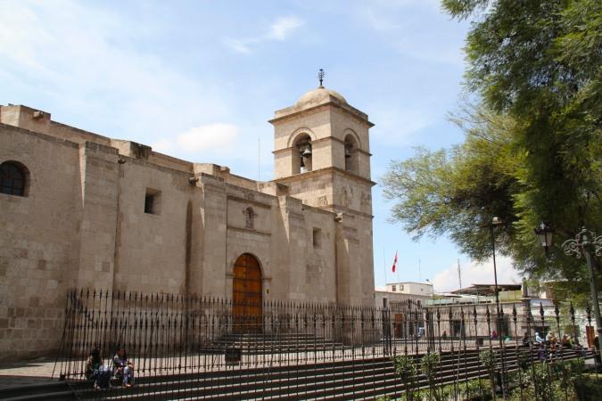Iglesia de San Francisco, Arequipa, Peru