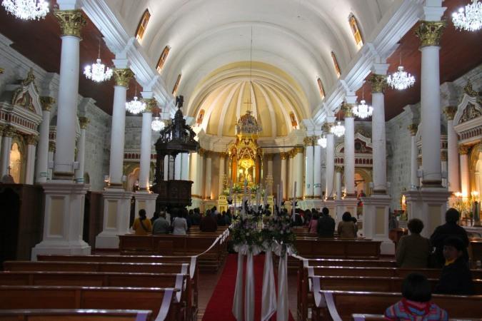 Iglesia de San Augustin, Arequipa, Peru