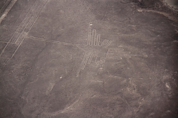 The 'Humming Bird' , Nazca, Peru