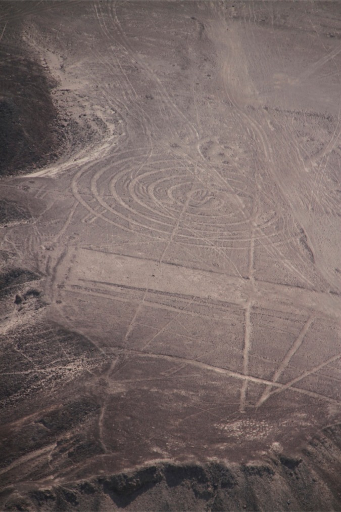 Spiral, Nazca, Peru