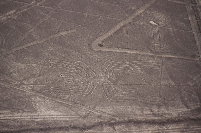 The 'Spider', Nazca, Peru