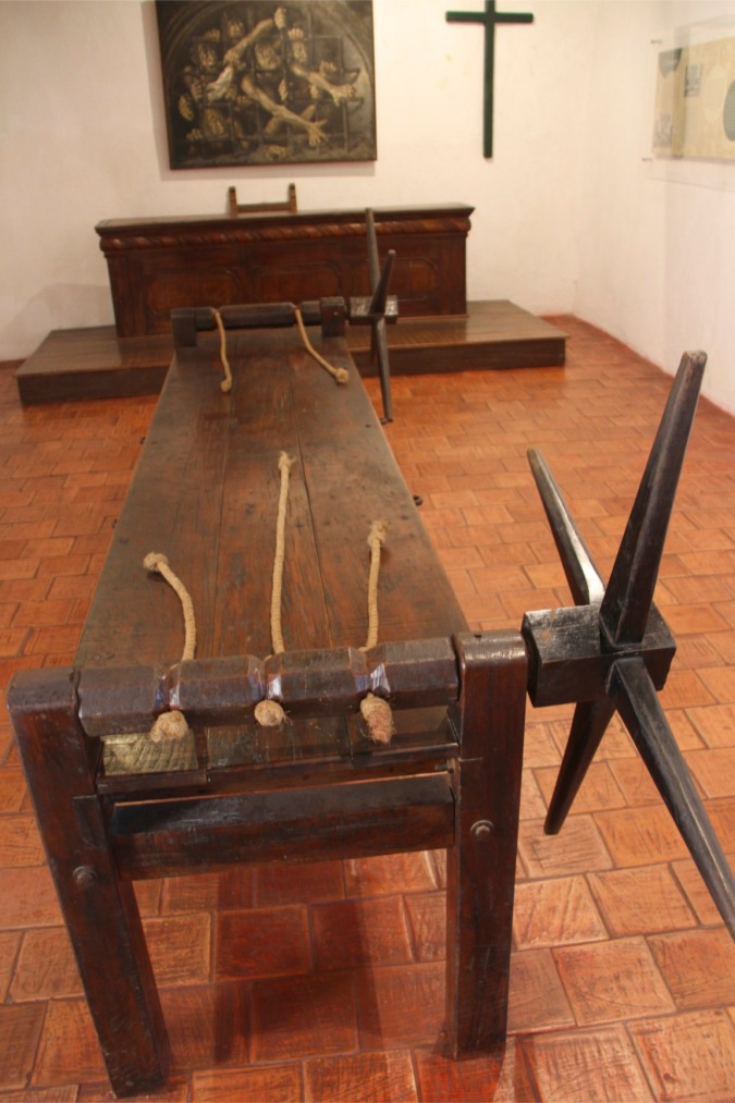 The Rack, Palace of the Inquisition, Cartagena, Colombia