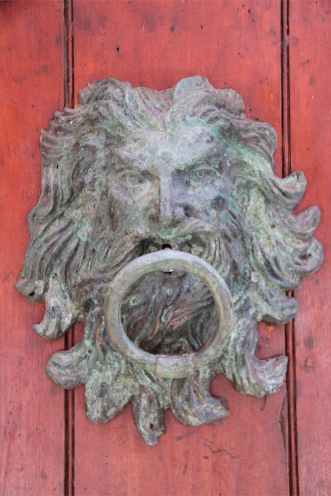 Door knocker, Cartagena, Colombia