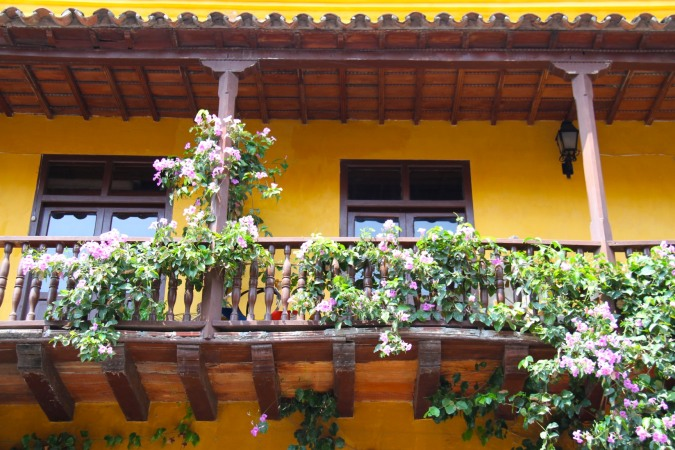 Balcony, Cartagena, Colombia
