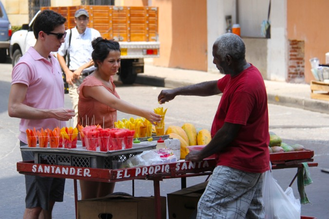 Street food, Cartagena, Colombia