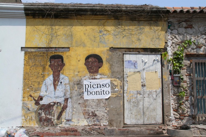 Street art, Cartagena, Colombia