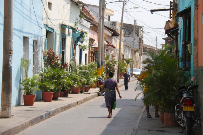 Street, Cartagena, Colombia