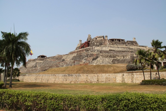 Castillo de San Felipe de Barajas, Cartagena, Colombia