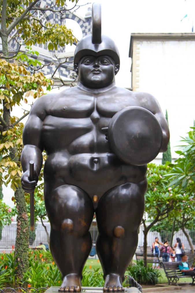 Fernando Botero's sculptures, Medellin, Colombia