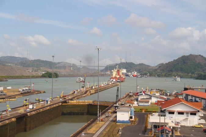 Miraflores Locks, Panama Canal, Panama
