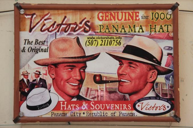 Panama hats, Casco Viejo, Panama City, Panama