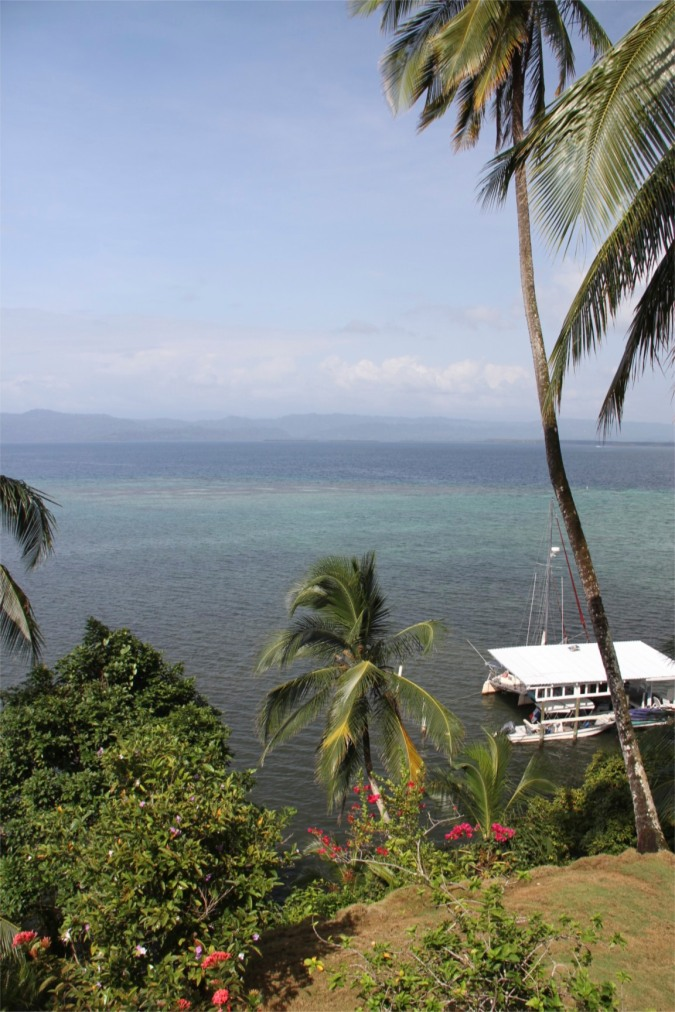 View from the cabana, Isla de San Cristobal, Bocas del Toro, Panama