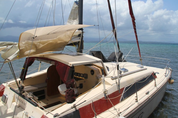 Sailboat, Isla de San Cristobal, Bocas del Toro, Panama