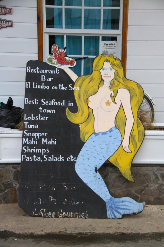 Sign, Bocas Town, Bocas del Toro, Panama