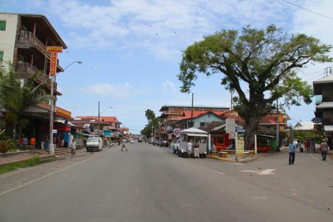 Main street, Bocas Town, Bocas del Toro, Panama