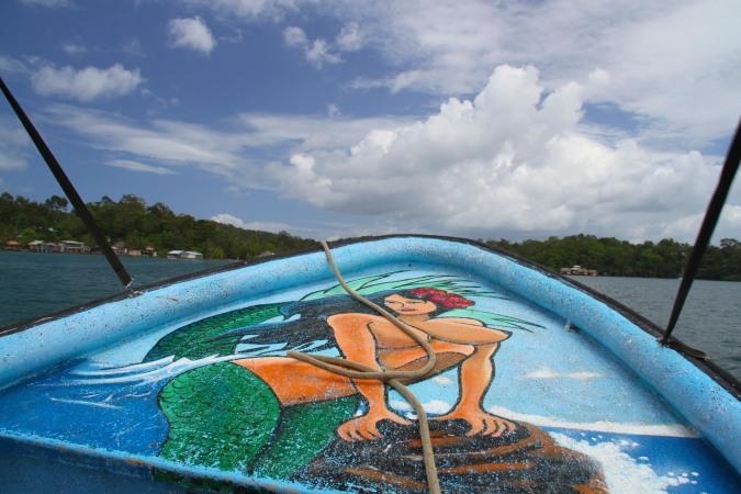 Water taxi, Bocas del Toro, Panama