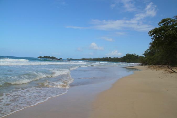 Turtle Beach, Isla Bastimentos, Bocas del Toro, Panama
